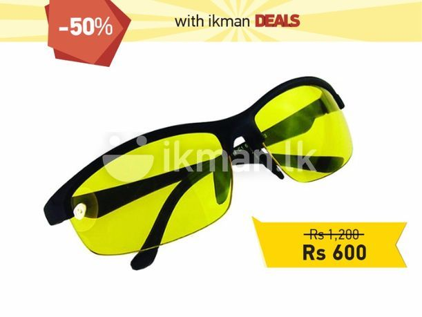 Sunglasses & Opticians : Night Vision Riding Glass | Colombo 2 | ikman