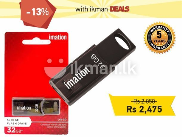 Computer Accessories : Imation 32 GB Pen drive - 13% OFF | Colombo 2 | ikman