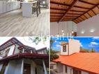 Roofing, Ceiling, Gutter, Flooring