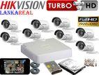 Hikvision Turbo HD 1,080P 8 Cameras 2MP Full CCTV System