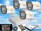 Hikvision 2MP ColorVu WDR 1,080P Turbo HD Cctv 4 Cameras System