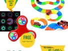 Magic Tracks Light Fidget Spinner