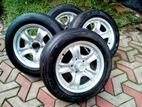 """15"""" Alloy Wheels with Tyres"""