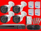 CCTV 5Mp 4 Camera with Full Set