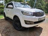 Toyota Fortuner 80000 km 2013