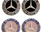 MERCEDES BENZ 75MM WHEEL CUP 4PCS