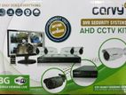 Carvy 4 Channel Ahd Cctv Camera Kit