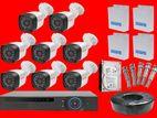 CCTV 5Mp 8 Camera with Full Set