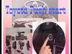 Toyota push start