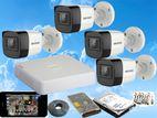 Hikvision Turbo HD 2MP Audio-Voice 1,080P 4 Cameras CCTV System