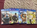 PS4 Games CD's