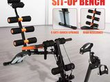 Six Pack Care Exercise Machine with wheel