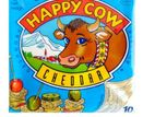 Happy Cow Cheddar Cheese Slices (10-Pack) 200g