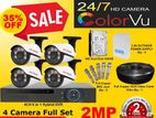Coler Vu 2MP 4 Channel camera full set with installation