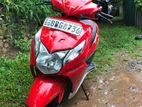 Honda Dio Red 2014