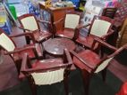 Phoenix 6 Chaire set with table
