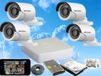 Hikvision 4 Cameras 720P Turbo HD CCTV System