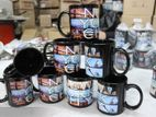Black Sublimation Mug Epson Printing