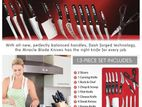 New Mibacle Blade World Class Complete 13-Piece Knife Set