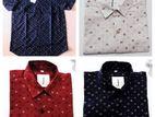 Men's Cotton Printed Shirts