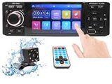 1 Din Car Audio Setup BT Android Mirror Link