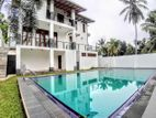 Luxury Two Story House & 18.5 P Sale At Thalawathugoda