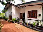 Single Story House For Sale in Kimbulawala