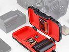 Lensgo Camera Battery Memory Card Case