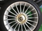 Alloy wheels with tires 225/45/17