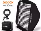 GODOX 40 CM GRID FLASH SOFTBOX + S HOLDER