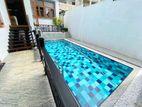 Sewiming Pool With Luxury 03 Story House Sale At Thalwathugoda