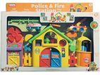 Fun Time - Police and Fire Station Play Set