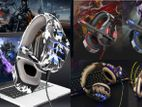 Gaming Led Headset Army Model