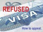 Rejection or Appeals Visa
