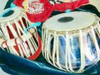 Indian Tabla Pair with Casing