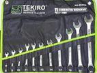 TEKIRO COMBINATION WRENCH SET 11Pcs