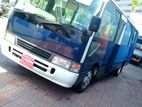 Bus For Hire Coaster 28 Seater