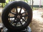 215/55/17 Tyre With Alloy Wheels
