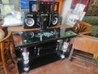 Tempered Glass TV stand--TGT9268