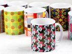 Mug Printing Floral Special Quality Sublimation Mugs