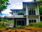 Brand New 2 Story House for Sale in Balangoda Dahamana