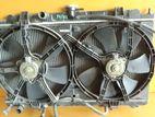 Nissan Y11/fb15 Manual Radiator with Fans