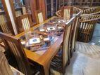 Teak Dinning Table Chairs -TDB950