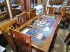 Dinning Table and Chairs--6ftx3ft--DTN1202