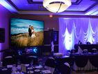 Wedding Hall Full HD Sony Projector Set