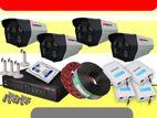 MICROTEC - 2.4MP CCTV Camera System 4CH Full Set