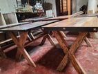 crossed legs tables