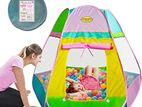 Six sided pop up play house tent indoor/ outdoor with 6 stakes