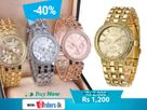 Geneva Ladies Watch Gold