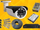 CCTV 2.4Mp 1 Camera with Full Set Dvr, Hard, Jack, Cable, Power Supply